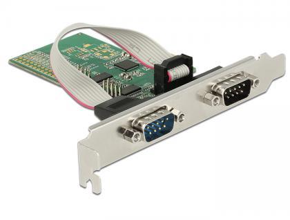 PCI Express Karte an 4x Seriell RS-232, Delock® [89557]