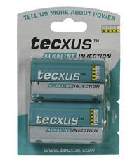 Tecxus® Batterie Alkali Mono D, 2er Blister