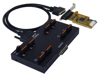 8S Seriell RS-232/422/485 PCI Metall Modul mit 4KV Überspannungs-Schutz und 15KV Surge Protection, Exsys® [EX-47042QIP]