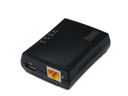 Multifunction Network Server, 1-Port, USB 2.0, Digitus® [DN-13020]