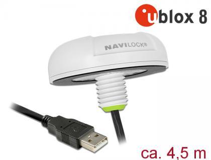 Nl-82022mu Usb 2.0 Multi Gnss Udr Empfänger, U-blox, Neo-m8u, 4, 5m, Navilock® [62780] - Vorschau