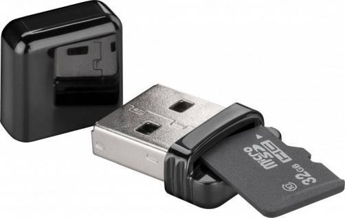 Kartenlesegerät USB 2.0 für Micro SD