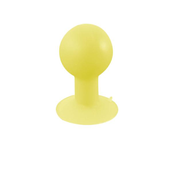 iStand Saugnapf für Smartphones, MP3-Player uvm., gelb, Logilink® [AA0025]