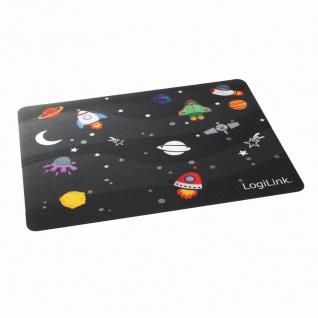 Glimmer Mauspad, 'Little Planet' Design, LogiLink® [ID0148]