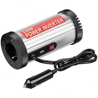 Spannungswandler DC/AC, 12 V auf 230 V, Leistund 150W