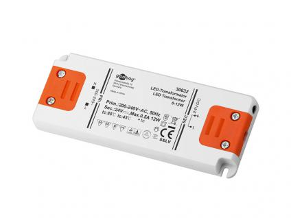 LED Transformator 0-12 Watt, DC-Betrieb