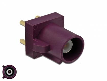 FAKRA D Stecker PCB, Delock® [89730]