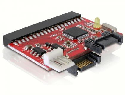 IDE-SATA oder SATA-IDE Converter, All-in-One Adapter, Delock® [61635]