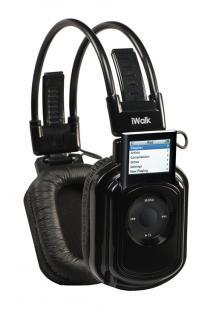 Lobos® iWALK Kopfhörer für iPod Nano, Farbe Schwarz