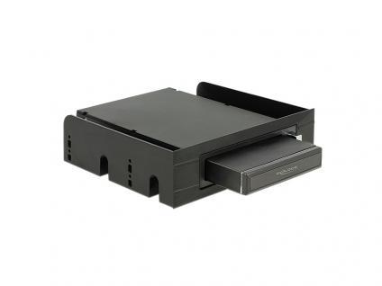 Wechselrahmen SATA/USB 3.0 komplett, schwarz [47213]