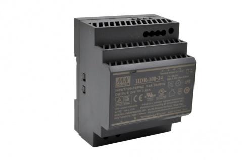 HDR-100-24 - Netzteil für EX-1110HMVS/1110HMVS-WT/1112HMS (Output DC 24V/3.83A/92W), Exsys® [EX-6974]