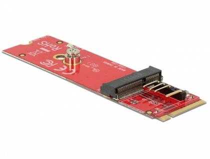 Konverter M.2 Key M Stecker > M.2 Key E Slot für USB und PCIe Module, Delock® [63343]