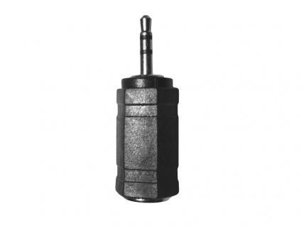 Stereo Headset Adapter, 3, 5mm Buchse auf 2, 5 mm Stecker, schwarz, LogiLink® [CA1103]