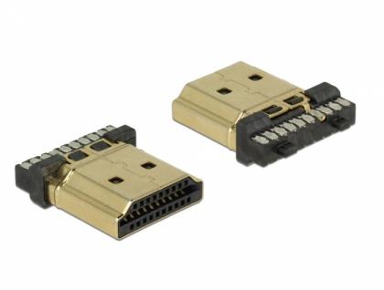 Steckverbinder HDMI-A Stecker, Delock® [65886]