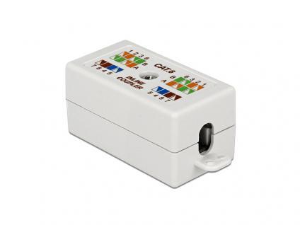 Verbinder für Netzwerkkabel Cat.6 UTP LSA werkzeugfrei, weiß, Delock® [86167]
