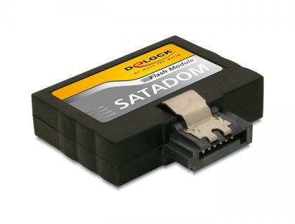SATA 6 Gb/s Flash Modul 32 GB MLC Low profile -40____deg; C ~ +85____deg; C, Delock® [54738]