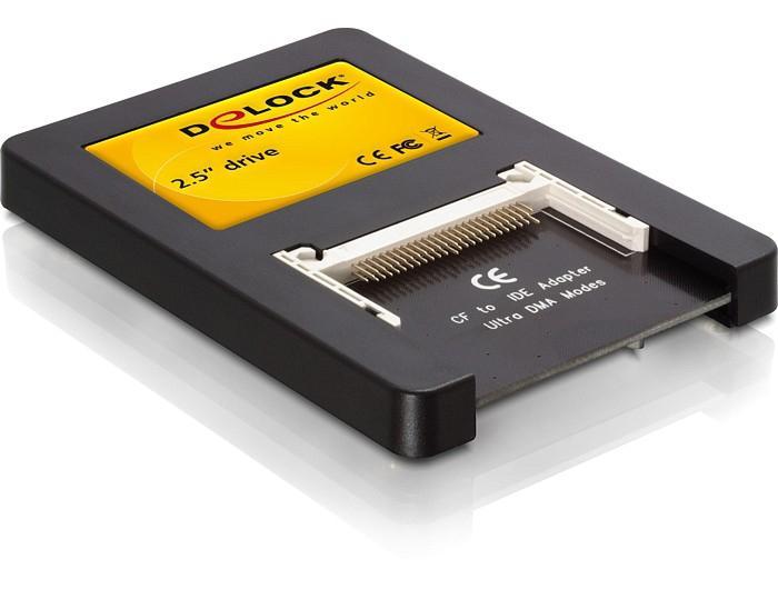 Compact Flash Karte.Laufwerk 2 5 Ide An 2x Compact Flash Karte Delock 91662