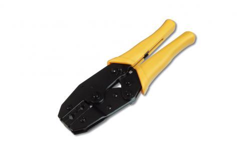 Crimpzange für Koax Kabel wie BNC, TNC, UHF, N, RG58, RG62, etc.
