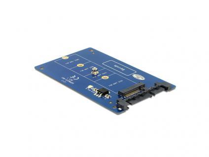 Konverter SATA 22 Pin an M.2 NGFF, Delock® [62559]