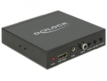 Konverter SCART / HDMI an HDMI mit Scaler, Delock® [62783]