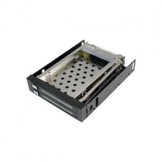 Wechselrahmen, 3, 5', für 2x 2, 5' HDD Festplatten, Logilink® [MR0006]