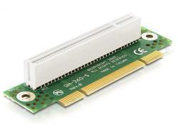 Riser Karte PCI 32 Bit 90____deg; gewinkelt links gerichtet 2HE, Delock® [89087]
