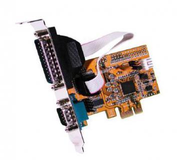 Schnittstellenkarte, PCI Express, 2S Seriell, RS-232, 9/25 Pin Anschluss, Exsys® [EX-44073]