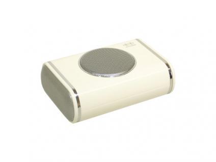 Titan® Portable 2.1 Stereosound Notebook Lautsprecher NB-201, weiss