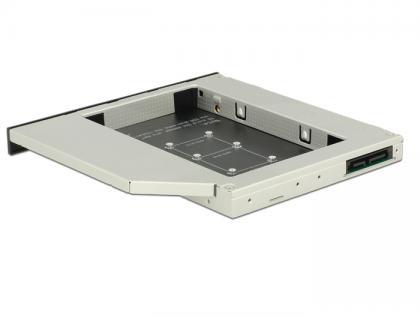 Slim SATA 5.25' Einbaurahmen für 1x mSATA, Delock® [62717] - Vorschau