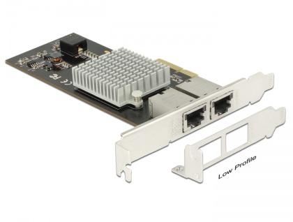 PCI Express Karte an 2x 10 Gigabit LAN RJ45, Delock® [89520]