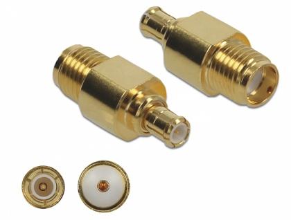 Adapter SMA Buchse an MCX Stecker 10 GHz, Delock® [89959]