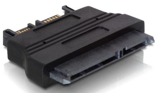 Adapter, SATA 22pin Buchse an Slim SATA 13pin Stecker, Delock® [61694]