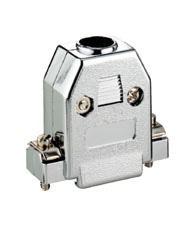 kabelmeister® Kunststoff-Gehäuse, metallisiert, für 9-Pol+15-HDD