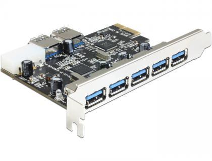 PCI Express Karte > 5 x extern + 2 x intern USB 3.0, Delock® [89355]