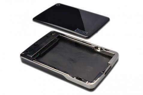Externes Laufwerksgehäuse 2.5, USB 2.0, für IDE HDD 2.5, ohne Netzteil Digitus Design, Chipsatz:M110B Digitus® [DA-71001]