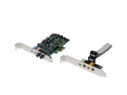 7.1 PCI-Express Soundkarte, 24 bit, LogiLink® [PC0076]