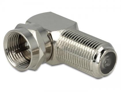 Adapter F Buchse an F Stecker 90____deg;, Delock® [88880]
