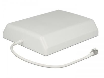 LTE UMTS GSM Antenne, N Buchse, 7-10 dBi, direktional, Wand- und Mastmontage, outdoor, Delock® [12435]