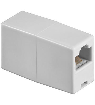 ISDN Kupplung, 2 x 8P8C Buchse
