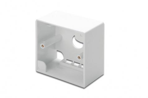 Aufputzrahmen für Keystone Leerdosen 80x80mm, Digitus® [DN-93803]