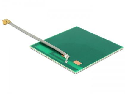 WLAN Antenne MHF/U.FL-LP-068 kompatibel 802.11 b/g/n 2 dBi 50 mm PCB intern selbstklebend, Delock® [86253]