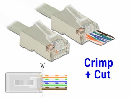 RJ45 Crimp+Cut Werkzeugset, Delock® [86450]