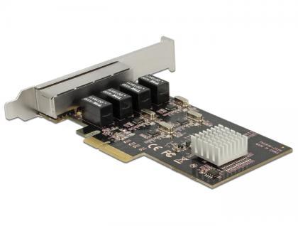 PCI Express Karte an 4x Gigabit LAN, Delock® [89567]