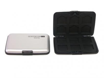 Aluminium Case für 12x XD Karten