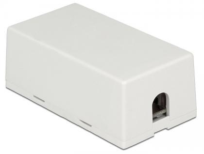 Verbindungsdose für Netzwerkkabel Cat.6A LSA UTP, Delock® [86409]