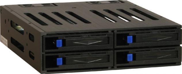 kabelmeister® Wechselrahmen ST-1040SR RAID Subsystem für 4x 2, 5' SATA Festplatten