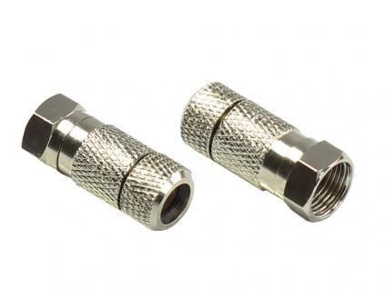 kabelmeister® F-Stecker, Twist-On, Ø 8, 0mm