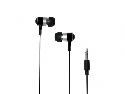 Stereo In-Ear Kopfhörer schwarz, LogiLink® [HS0015A]