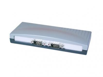 USB 1.1 zu 2x Seriell RS-232 St. im Desktop-Gehäuse, Exsys® [EX-1332]
