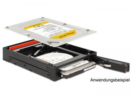 3.5' Wechselrahmen für 1x 2.5' SATA HDD / SSD, Delock® [47225]